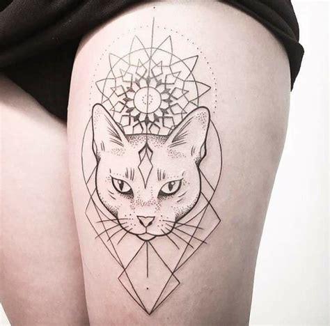 tattoo cat model best geometric tattoo nice geometric tattoo geometric