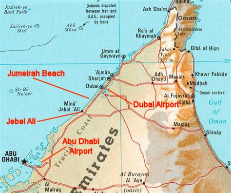 jebel ali resort map foreign confidential july 2012