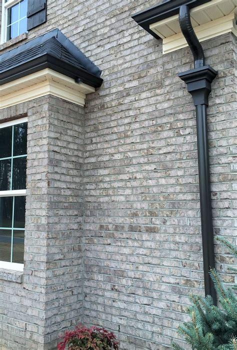 castle gray brick  walt wooten brick exterior house