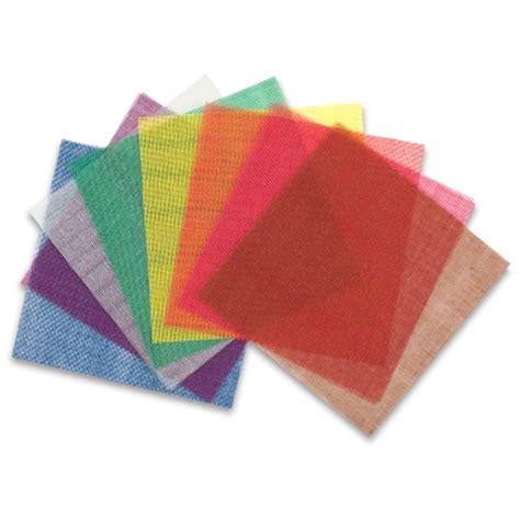 Origami Paper Substitute - aitoh origami mesh paper blick materials
