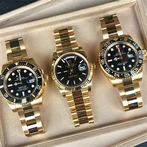 Rolex Blass Black Gold Color Fashion 1 2317 best relogios images on fashion watches