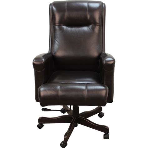 brown leather desk chair living prestige black and brown leather desk chair
