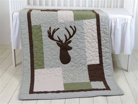 quilt crib bedding deer crib bedding deer crib quilt deer baby blanket deer