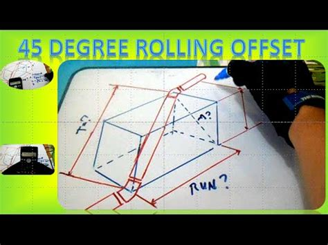 Rolling Offset Plumbing by Pipe Trades Pro Simple And Rolling Offsets How To Doovi
