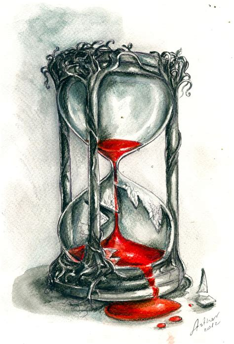 hour glass tattoo hourglass by artofasthar on deviantart