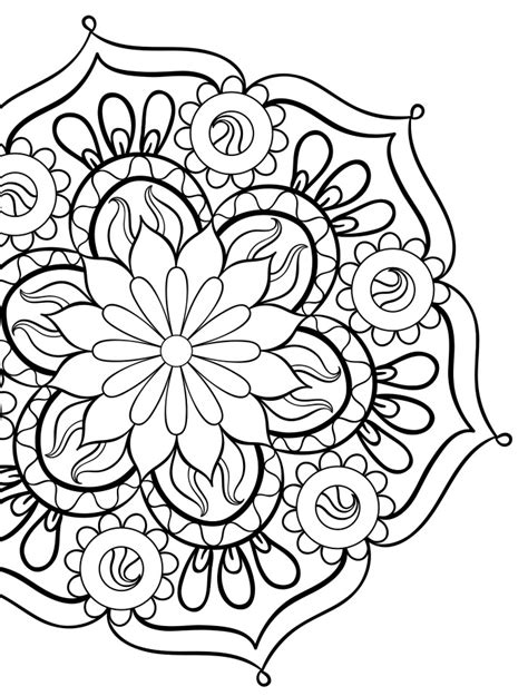 mandalas gorgeous coloring books with more than 120 illustrations to complete 20 gorgeous free printable coloring pages page 2