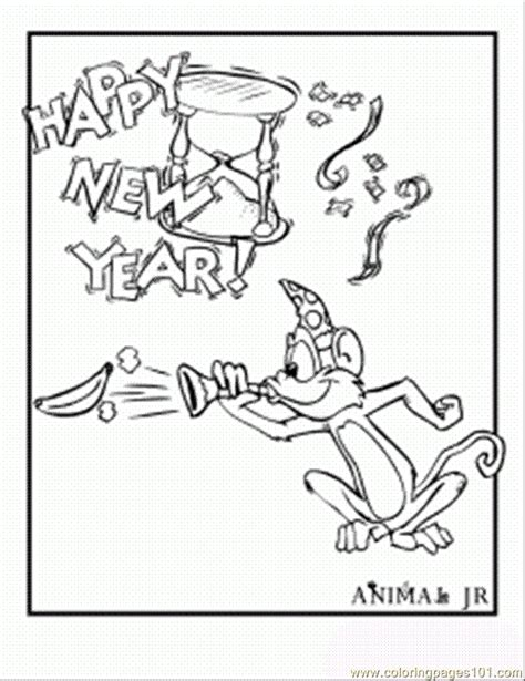 new year monkey coloring free coloring pages of year of the monkey