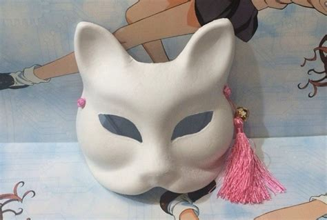 How To Make A Cat Mask Out Of Paper Plates - diy color drawing paper fox mask zephyr masks japan