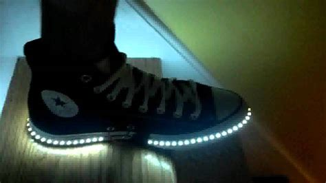 light up shoes for sale near me diy led shoes for adults youtube