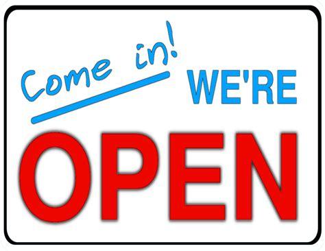 open clip open sign clipart clipart best