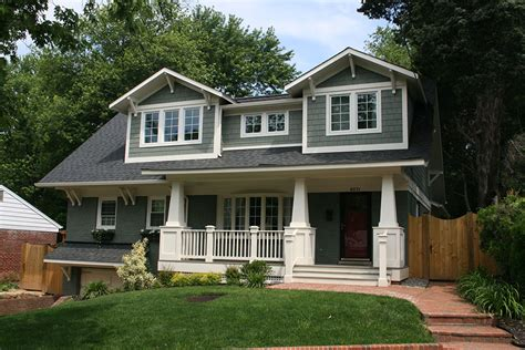 Craftsman 2 Story House Plans by 1950 S Ranch Style Home Remodel In Northern Virginia Old