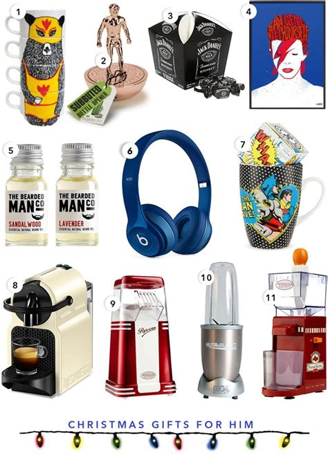 best 25 christmas presents for him ideas on pinterest