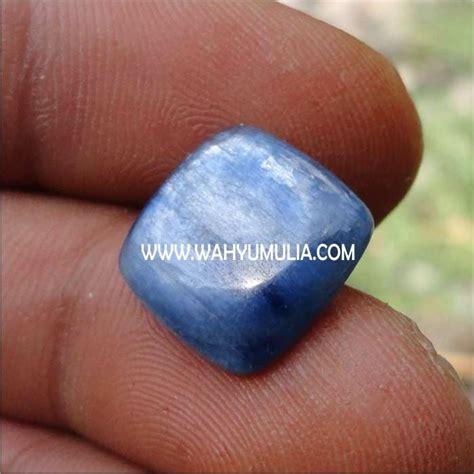 Cat S Eye Kyanite Memo batu blue kyanite kode 158 permatasatu