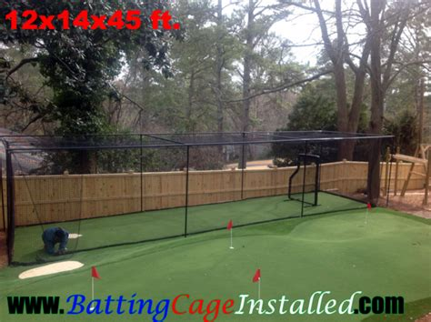 how to build a backyard batting cage batting cage installed backyard batting cages backyard