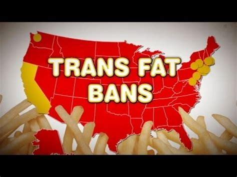 California Bans Transfat by Trans Fatty Acids