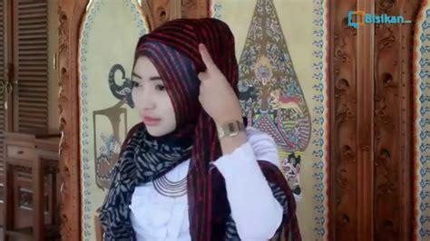 tutorial hijab pashmina ala zaskia sungkar youtube
