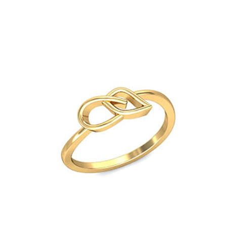 joyful simple gold ring augrav