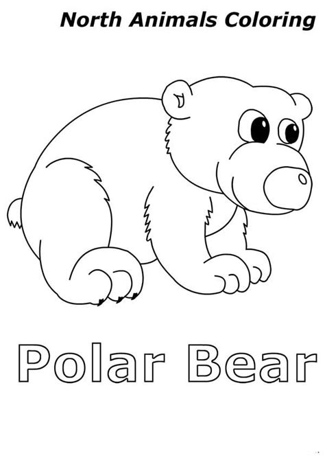 Top Colouring Site For Uk Kids Part 284 Arctic Animal Coloring Pages