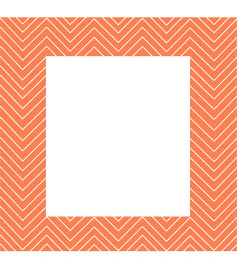 Chevron Pattern Border Clip Art At Clker Com Vector Clip Chevron Border Template