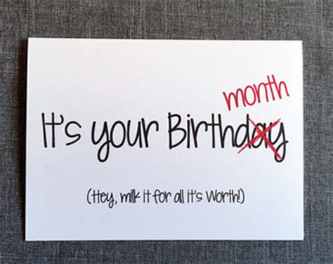 Happy 1 Month Birthday Card View Birthday By Nocoastpaperco On Etsy