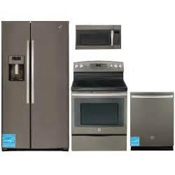 ge kitchen appliances reviews ge gse26hme slate complete kitchen package brandsmart usa