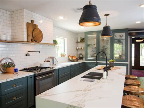 Small Kitchen Floor Plans With Islands photos hgtv s fixer upper with chip and joanna gaines hgtv