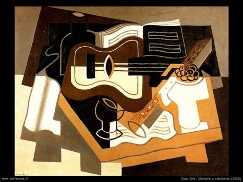 Chitarra Persiana by Juan Gris Pittore Biografia Opere Quadri Settemuse It