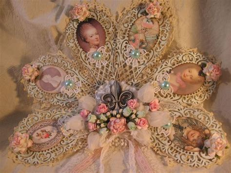 1000 images about altered shabby victorian fans on