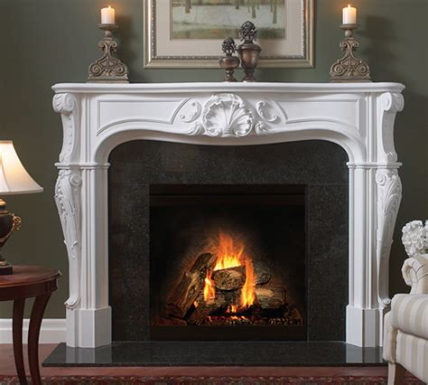 4101 fireplace mantel in plaster cement