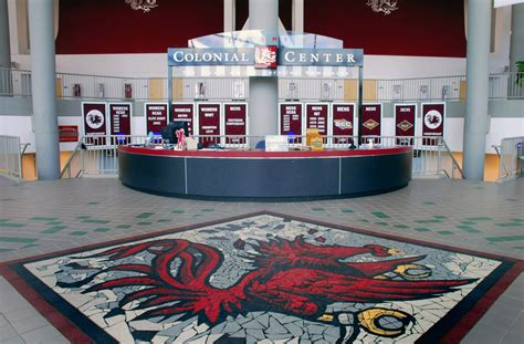 Colonial Arena Box Office by Sports Assembly Rosser