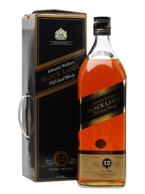 black label johnnie walker black label 12 year old big bottle the
