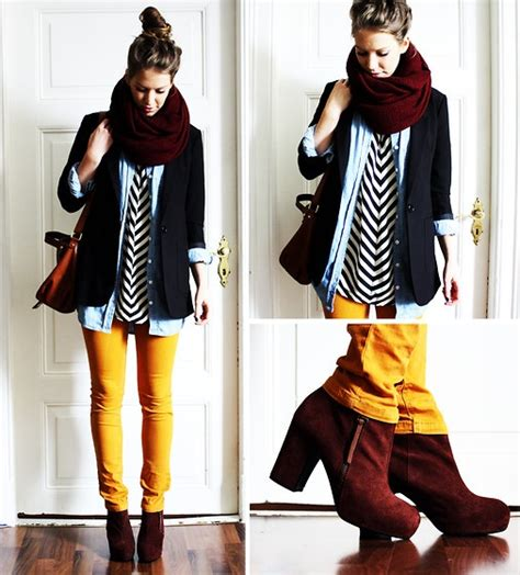 Style Ideas How To Wear The Layered Look And Not Look Larger Than Second City Style Fashion by Fall Style Layering Fashion Retail Society