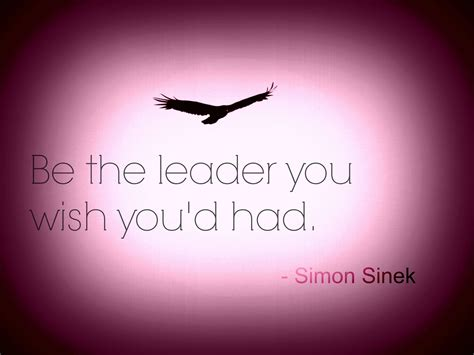 are you being the leader you wish you had inspired