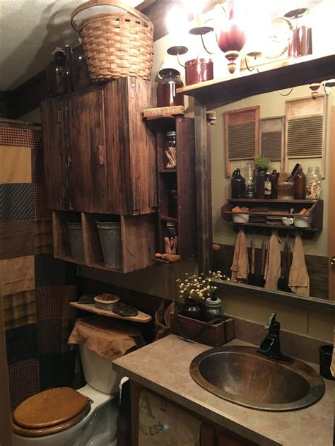 Primitive Country Bathroom Ideas Best 25 Primitive Bathrooms Ideas On Pinterest Rustic Master Bathroom Primitive Bathroom