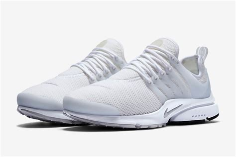 nike all white air presto sneakers 187 retail design