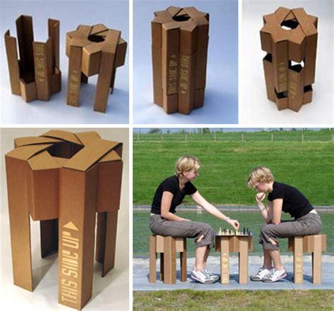Easychair Design Ideas Flat Pack Furniture Eco Friendly Cardboard Chair Designs