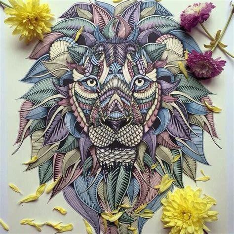 lion zentangles google search doodle zentangle pen drawings by faye halliday www fayehalliday com