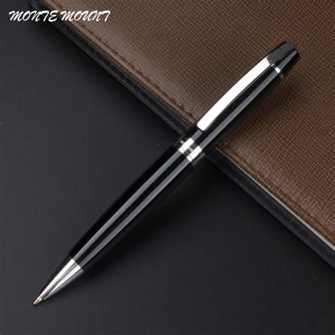 New Arrival Mont Blanc Slingbag 8819 2 aliexpress buy monte mount special offer big pen classic black and silver ballpoint pen