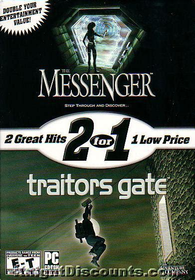Gate Of Aesir Book 1 2 Compilation the messenger traitors gate 2 for 1 pc new box