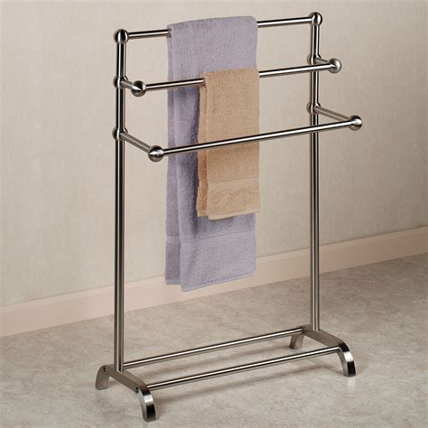 Design Ideas For Freestanding Towel Rack Free Standing Towel Rack Or Bad Idea Home Painting Ideas