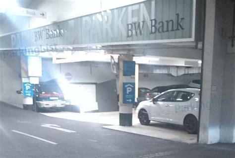 bw bank telefonnummer parkhaus bw bank stuttgart parken in stuttgart