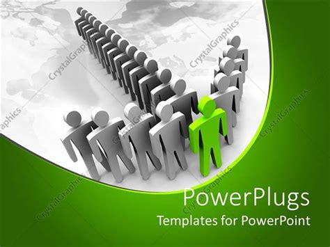 leadership powerpoint templates powerpoint template ash and silver colored leadership