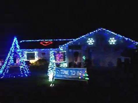 christmas lights house singing youtube