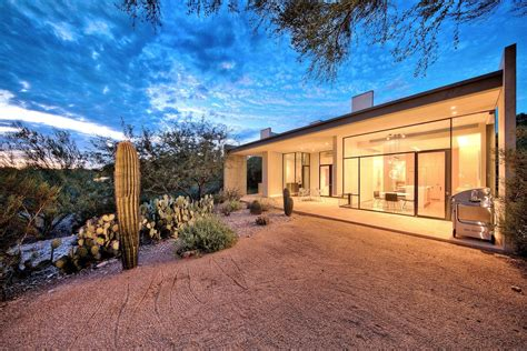 modern mountain homes via architectural digest modern arizona home for sale with mountain views