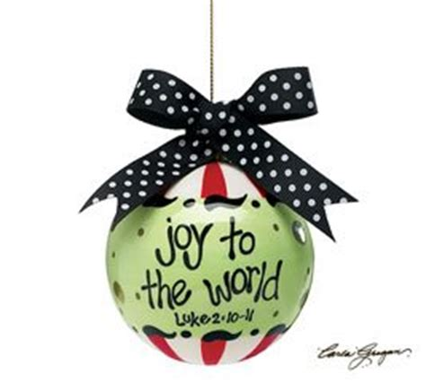 amazon com joy to the world round ornament christmas