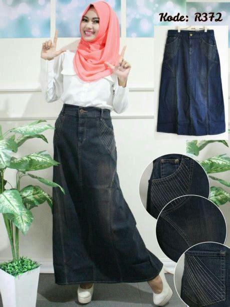 Murah Widea Washed Premium Skirt Rok Size Jumbo rok gurat jumbo r372 baju style ootd