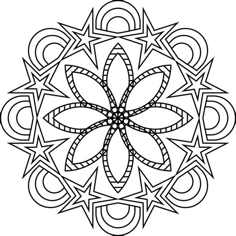 imagenes de mandalas florales mandalas faciles finest les gusta pintar y colorear