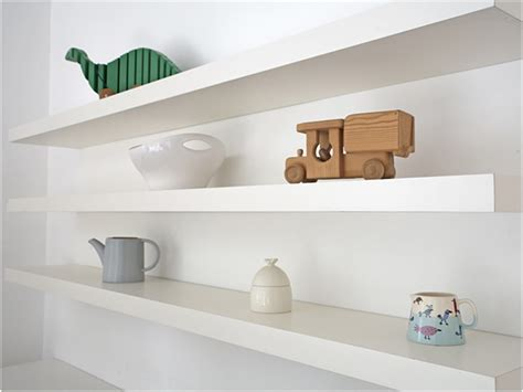 White Floating Wall Shelf by Floating White Shelves Book Wall Shelves Gallery With