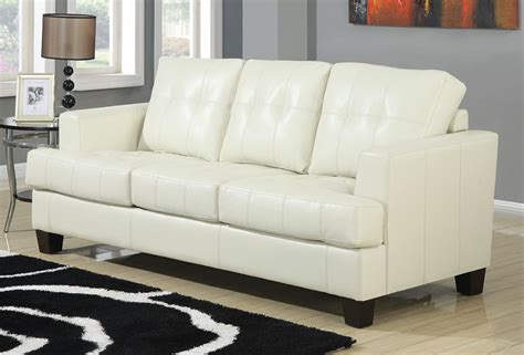 Coaster Samuel Sleeper Sofa Cream 501690 At Homelement Com Coaster Sofa Sleeper