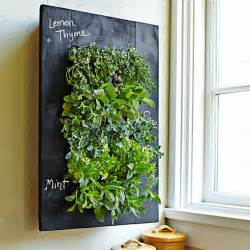 Vertical Wall Gardens Chalkboard Vertical Wall Planter The Green